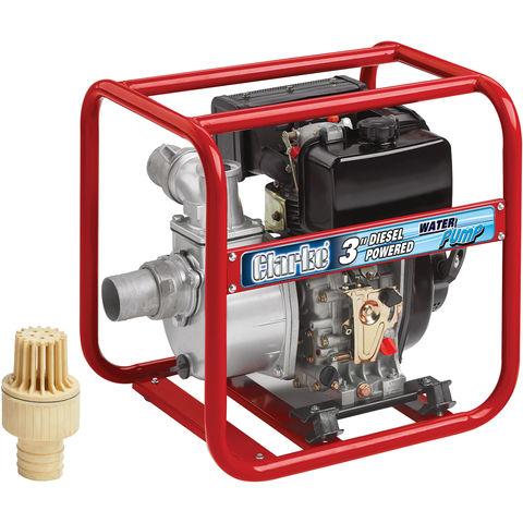 "Image of Clarke Clarke DW75 Diesel Powered 3"" Water Pump"