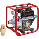 "Clarke DW75 Diesel Powered 3"" Water Pump"