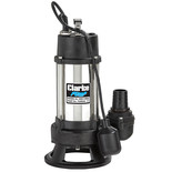 Clarke HSEC1400A - 1400W (1HP) Heavy Duty Submersible Cutter Pump