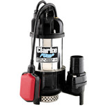 "Clarke HSE361A 2"" 960W 360Lpm 12m Head Submersible Water Pump with Float Switch (110V)"