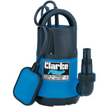 "Clarke CSE400A 1¼"" 400W 115Lpm 8m Head Submersible Water Pump (230V)"