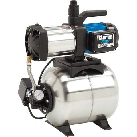 "Image of Clarke Clarke CBM250SS 1"" Stainless Steel Booster Water Pump"