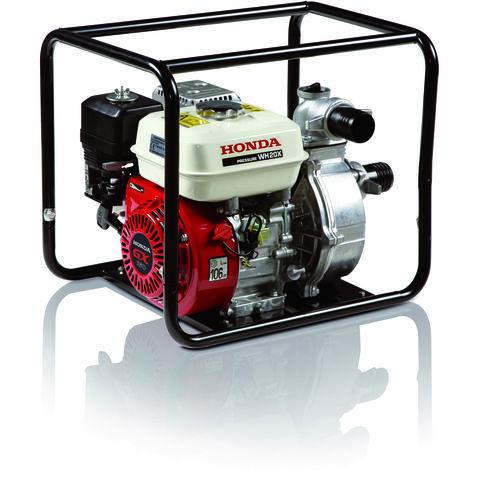 """Image of Honda Honda WH20 2"""" Petrol Powered High Pressure Water Pump"""
