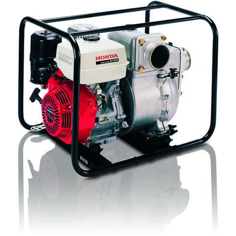 "Image of Honda Honda WT40 4"" High Flow Petrol Powered Trash Water Pump"