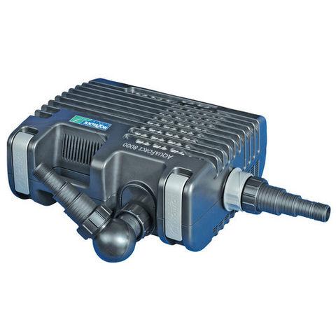 Image of Hozelock Hozelock Aquaforce 8000 Solids Handling Filter and Waterfall Pump