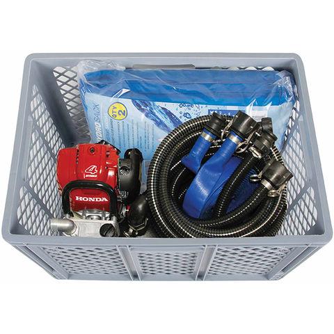 Obart Select Obart FloodMate 4 Flood Defence Kit with Tsurumi Petrol Engine Pump