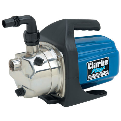 Clarke Spe1200ss 1 Self Priming Stainless Steel Pump