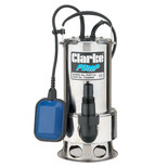 Clarke PVP11A Stainless Steel Dirty Water Submersible Pump