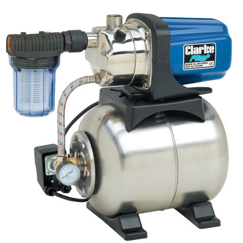 "Image of Clarke Clarke BPT1200SS 1"" Stainless Steel Booster Pump"