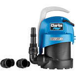 "Clarke CWP200 1 1/4"" 220W 95Lpm 5.5m Head Submersible Clean Water Pump (230V)"