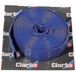 "Clarke 10m x 1"" Diameter Layflat Delivery Hose"