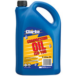 Clarke ISO 100 (SAE30) 5L Long Life Compressor Oil