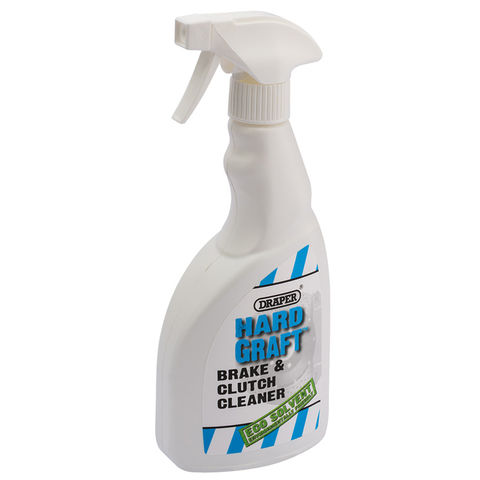 Image of Draper Draper HGBCC 500ml Hard Graft Brake and Clutch Cleaner