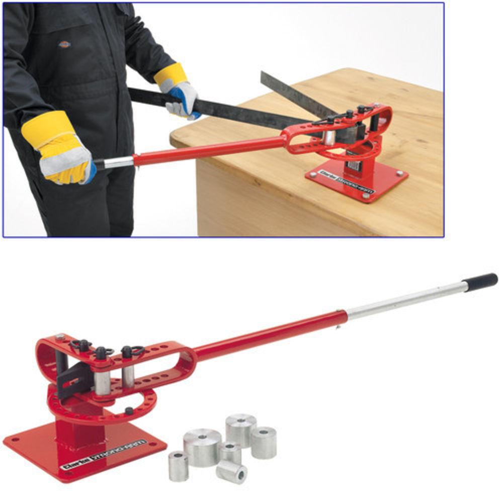 sheet metal bender tool. clarke ccb1 compact bench mounted parts bender sheet metal tool
