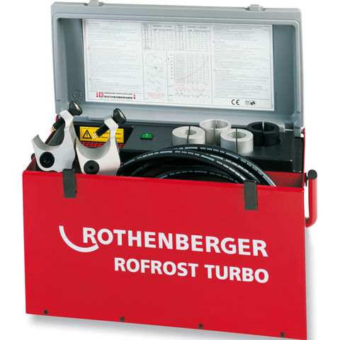 Image of Rothenberger Rothenberger 62203 Rofrost Turbo 2 Inch Electric Freezer 28 - 61mm (230V)