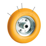 Clarke PF395 Puncture Proof Yellow Tyred Wheel 395mm