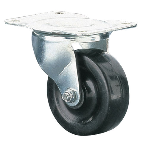Image of Clarke ML140S 50mm Swivel Castor - Rubber