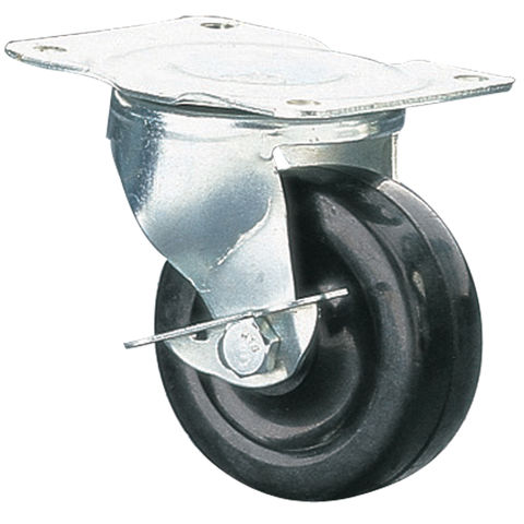Image of Clarke ML140-1 50mm Swivel & Brake Castor - Rubber