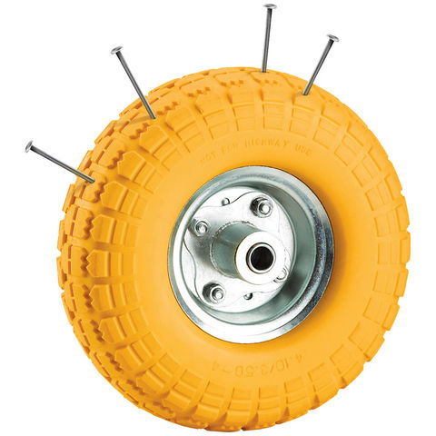 "Image of Clarke Clarke PF200 8"" (200mm) Wheel With Puncture Proof Tyre"