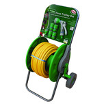 25m Hose Reel Trolley Set