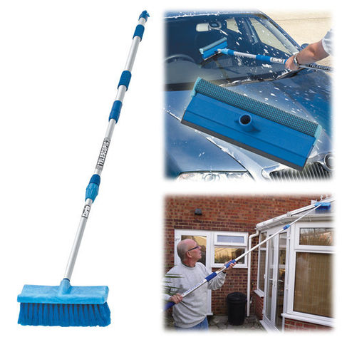 Image of Clarke Clarke CHT631 Telescopic Wash Brush and Squeegee