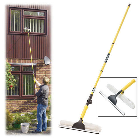 Image of Clarke Clarke CHT633 Telescopic Window Cleaner & Mop