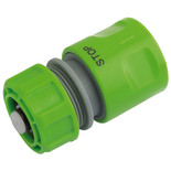 "Draper 1/2"" Garden Hose Connector with Water Stop"