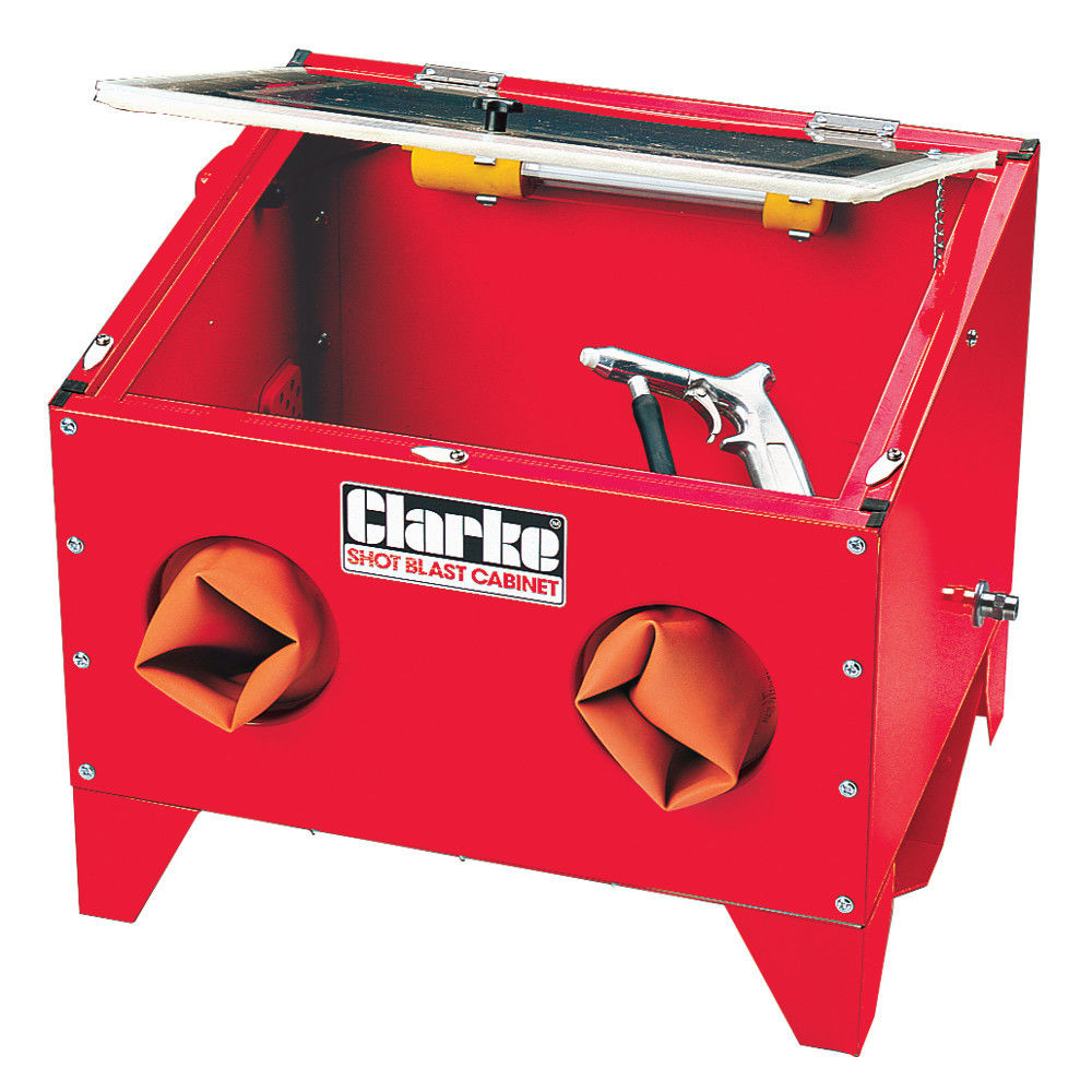 Sand Blaster Cabinet Sandblasting Gritblasting Equipment And Accessories Machine Mart