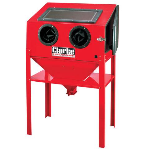Clarke SB30 Large Blast Cabinet - Machine Mart - Machine Mart