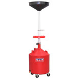Sealey AK80D Mobile Oil Drainer 80L Manual Discharge