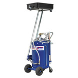 Sealey Mobile Oil Drainer with 100L Cantilever Air Discharge and Probes