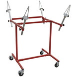 Sealey Alloy Wheel Painting/Repair Stand Heavy-Duty - 4 Wheel Capacity