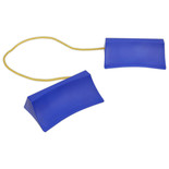 Sealey WC15 Plastic Wheel Chocks Pair