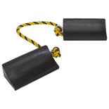 Sealey WC16 Rubber Wheel Chocks Heavy-Duty Pair