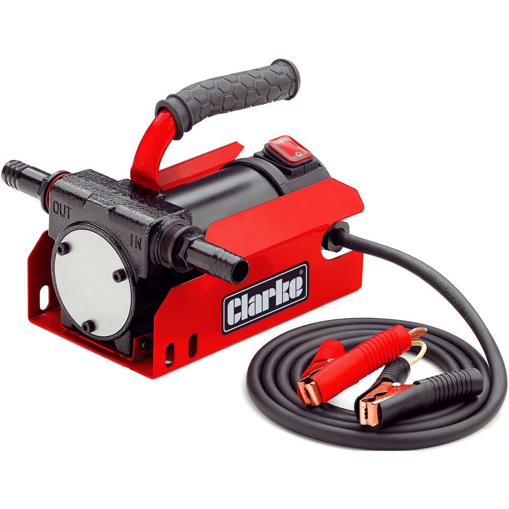 Lubrication Fuel Transfer Equipment Machine Mart Pump Filter Clarke Dft12 12v