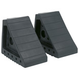 Sealey Rubber Wheel Chocks 1.8kg - Pair