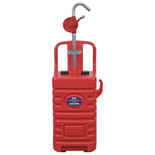 Sealey DT55RCOMBO1 55L Mobile Dispensing Tank with Oil Rotary Pump - Red