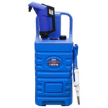 Sealey DT55BCOMBO1 55L Mobile AdBlue Dispensing Tank with Pump - Blue