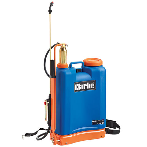 Image of Clarke Clarke 16 Litre Back Pack Sprayer KSP16