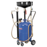 Sealey AK456DX 35L Air Discharge Mobile Oil Drainer with Probes