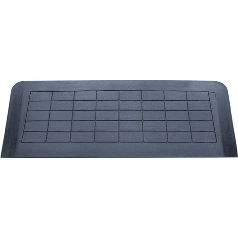 Image of Aidapt Aidapt VA144D Easy Edge Threshold Rubber Ramp (45 x 1280 x 460mm)