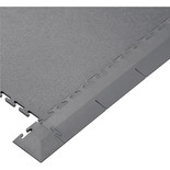 Clarke Interlocking Grey PVC Floor Edges and Corners
