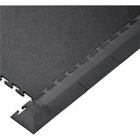 Clarke Interlocking Black PVC Floor Edges and Corners