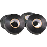 4 Pack Of Black Insulating Tape - 19mm x 33m