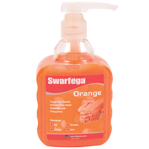 Image of DEB Swarfega Orange Pump Bottle 450ml