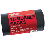Rodo 10 Pack Heavy Duty Rubble Sacks