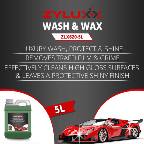 Image of Zyluxx Zyluxx Non-Caustic Wash and Wax - 5L Concentrate