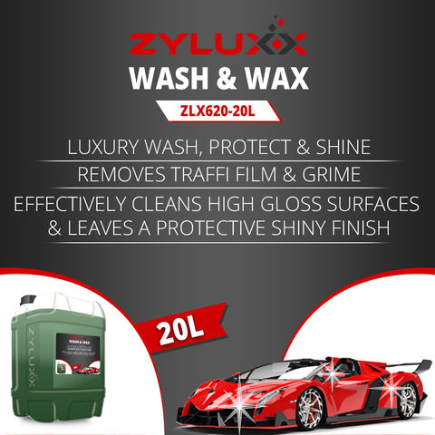 Image of Zyluxx Zyluxx Non-Caustic Wash and Wax - 20L Concentrate
