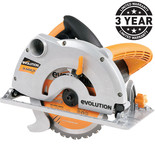 Evolution RAGE-B - Multi-Purpose 185mm Circular Saw (110V)