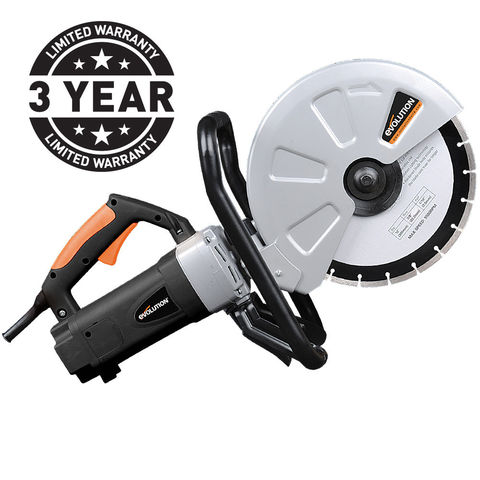 Image of Power Tools Price Cuts Evolution 305mm/12inch Electric Disc Cutter (230V)